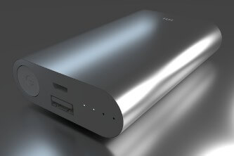 Power Bank gris